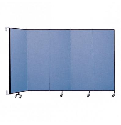 """ScreenFlex CWM605 WallMount Configurable Room Dividers 6'H x 9' 2""""L"""