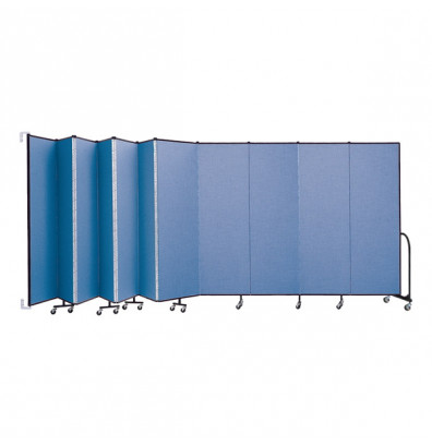 "ScreenFlex CWM6811 WallMount Configurable Room Dividers 6' 8""H x 20' 2""L"