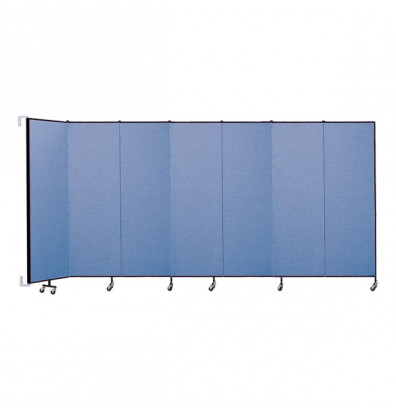 "ScreenFlex CWM687 WallMount Configurable Room Dividers 6' 8""H x 12' 10""L"