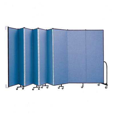 """ScreenFlex CWM689 WallMount Configurable Room Dividers 6' 8""""H x 16' 6""""L"""