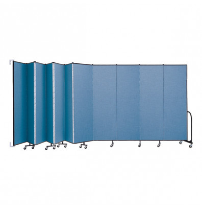 "ScreenFlex CWM7411 WallMount Configurable Room Dividers 7' 4""H x 20' 2""L"