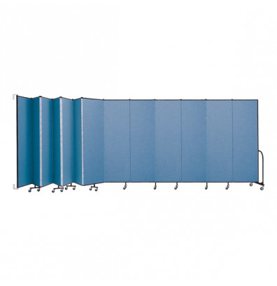 "ScreenFlex CWM7413 WallMount Configurable Room Dividers 7' 4""H x 23' 10""L"