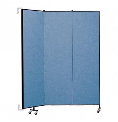 """ScreenFlex CWM743 WallMount Configurable Room Dividers 7' 4""""H x 5'6""""L"""