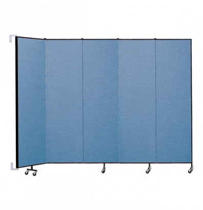 "ScreenFlex CWM745 WallMount Configurable Room Dividers 7' 4""H x 9' 2""L"