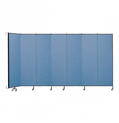 "ScreenFlex CWM747 WallMount Configurable Room Dividers 7' 4""H x 12' 10""L"