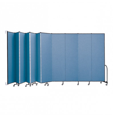 "ScreenFlex CWM8011 WallMount Configurable Room Dividers 8'H x 20' 2""L"