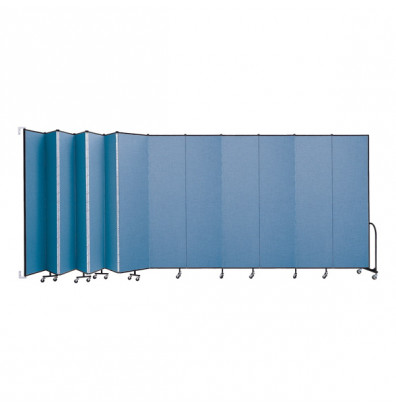 """ScreenFlex CWM8013 WallMount Configurable Room Dividers 8'H x 23' 10""""L"""