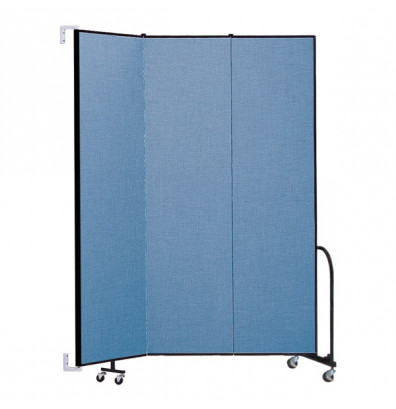 "ScreenFlex CWM803 WallMount Configurable Room Dividers 8'H x 5'6""L"