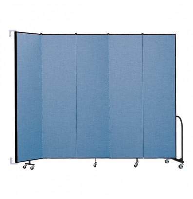 """ScreenFlex CWM805 WallMount Configurable Room Dividers 8'H x 9' 2""""L"""