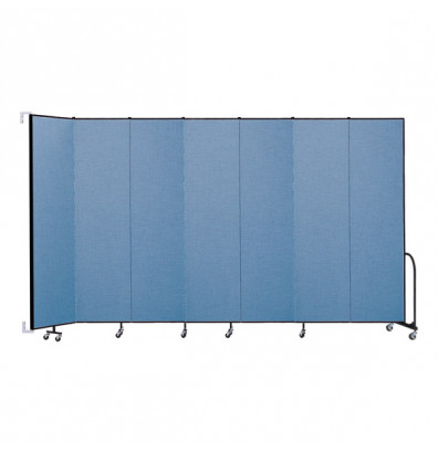 "ScreenFlex CWM807 WallMount Configurable Room Dividers 8'H x 12' 10""L"