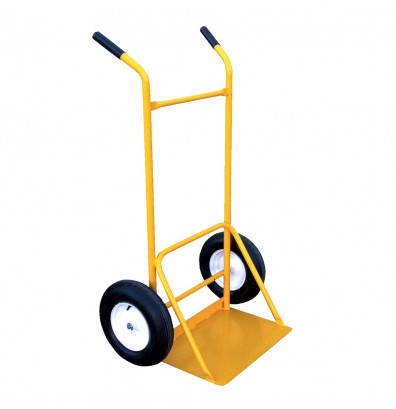 Vestil SITE-C-FF Dual Handle Rough Terrain Site Cart Hand Truck, Foam Filled Wheels