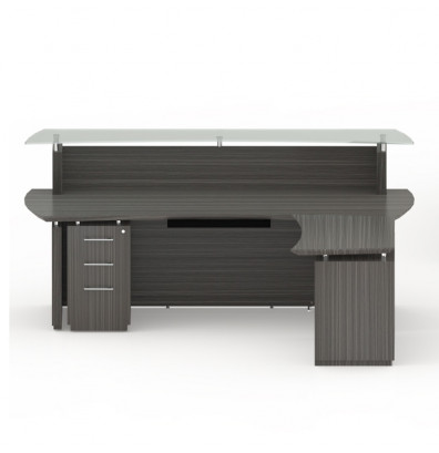 Quick Overview Mayline Sterling Stg31 Reception Desk