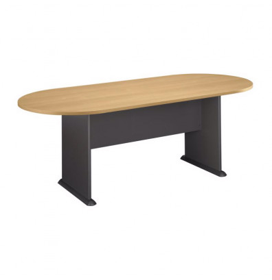 Bush Series C Ft Racetrack Conference Table - 7 ft conference table
