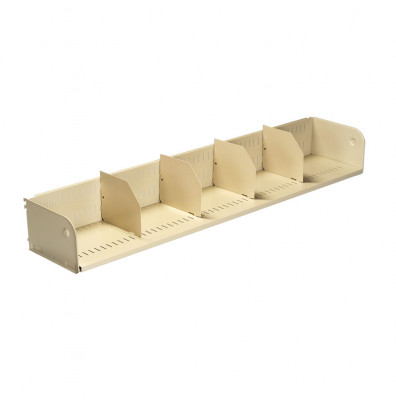 Tennsco TWBS-6012A Cantilevered Shelf Attached to Upright Frames - Shown in Sand