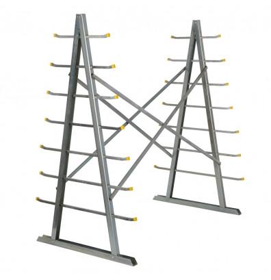 "Vestil 66"" H Self Supporting Material Rack"