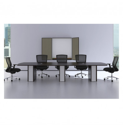Cherryman Verde Ft BoatShaped Conference Table - 8 foot office table