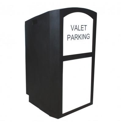 Amplivox Portable Hard Plastic Valet Podium