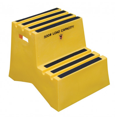 Vestil 19 25 Quot H 2 Step Polyethylene Step Stool
