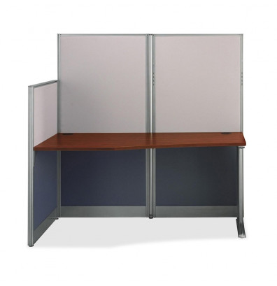 "Bush Office-in-an-Hour WC36492 65"" W Straight Workstation"