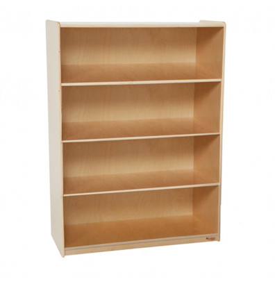 Quick Overview Wood Designs Childrens Classroom Extra Large Bookshelf