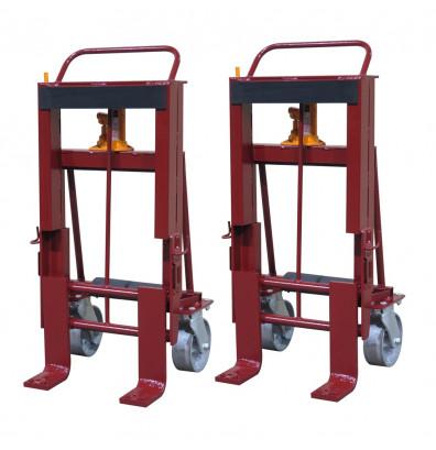 Wesco RNR-10 Rais-N-Rol 10,000 lb Load Machinery Movers, Steel Wheels