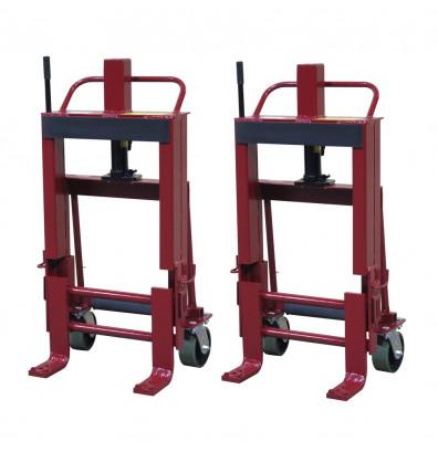 Wesco RNR-6P Rais-N-Rol 6000 lb Load Machinery Movers, Urethane Wheels
