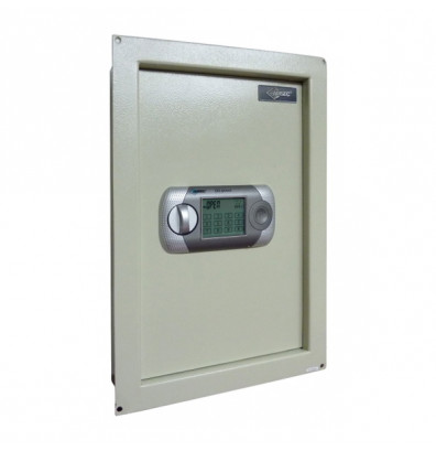 AmSec WEST2114 0.42 cu. ft. Steel In-Wall Safe with Touch Screen Lock