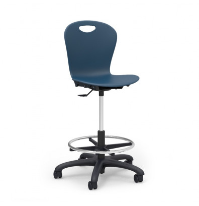Virco Zuma Classroom Lab Stool With Footring