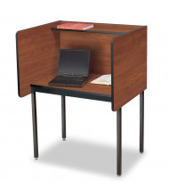 Smith Carrel Privacy Testing Carrel (Shown in Cherry)