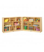 Jonti-Craft ThriftyKYDZ Super-Sized Fold-n-Lock Classroom Storage Unit