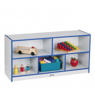 Jonti-Craft Rainbow Accents Low Mobile Cubbie Classroom Storage (Shown in Blue)