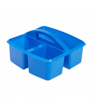 ECR4Kids Small Art Caddy Classroom Storage Tray Set, 12 Pack (Shown in Blue)