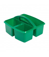 ECR4Kids Small Art Caddy Classroom Storage Tray Set, Green