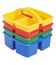 ECR4Kids Small Art Caddy Storage Tray Set, 12 Pack