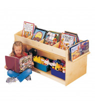 Jonti-Craft ThriftyKYDZ Mobile Book Browser Stand (example of use)