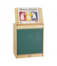 "Jonti-Craft 24"" W Chalkboard Big Book Easel"