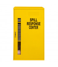 """Durham Steel 20"""" W x 14"""" D x 33"""" H Spill Control Cabinet, Yellow (Material inside not included)"""