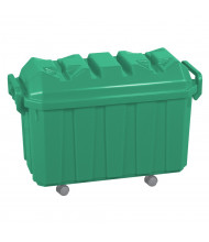 ECR4Kids 18-Gallon Stackable Mobile Classroom Storage Trunk, 4-Pack (Shown in Green)