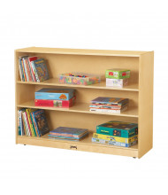 Jonti-Craft Super-Sized Adjustable Classroom Bookcase (example of use)