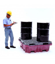 Ultratech 0802 Spill King with Drum Pallet and Drain