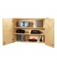 Jonti-Craft Lockable Wall Cabinet