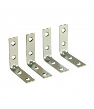 Diversified Woodcrafts 100728X4 Floor Mounting L-Shaped Brackets for Science Tables, Set of 4