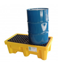 Ultratech Spill Pallets, 66 Gallons (2-drum model)