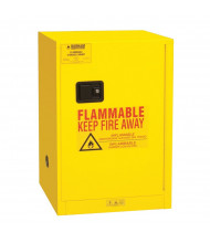 "Durham Steel 1012M-50 19"" W x 23"" D x 35"" H One Door Flammable Safety Cabinet, 12 Gallon"