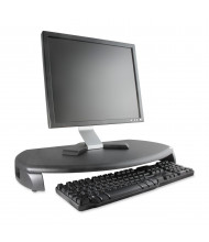 "Kantek 3"" H LCD Monitor Riser Stand with Keyboard Storage, Black"