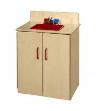 Wood Designs Classic Sink Dramatic Play Set (Shown in Red)