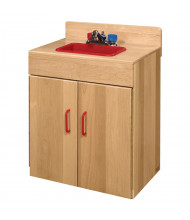Wood Designs Maple Sink Dramatic Play Set