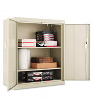 "Alera CM4218PY 36"" W x 18"" D x 42"" H Storage Cabinet in Putty, Assembled"