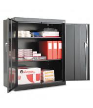 """Alera CM4218BK 36"""" W x 18"""" D x 42"""" H Storage Cabinet in Black, Assembled"""