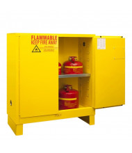Durham Steel Two Door Flammable Safety Cabinets with Legs (1030ML-50)